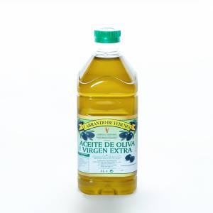 Aceite de oliva virgen extra en tamaño de 2 litros.